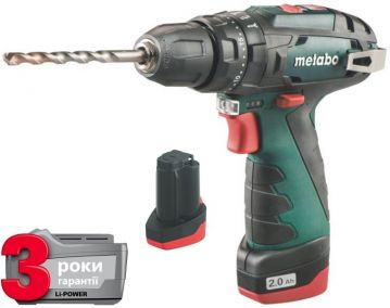 Шуруповерт ударный Metabo PowerMaxx SB 10,8