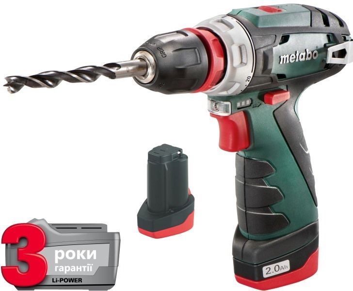 Шуруповерт Metabo PowerMaxx BS Quick Basic 10,8