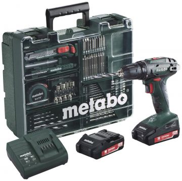 Шуруповерт Metabo BS 18 Mobile Workshop