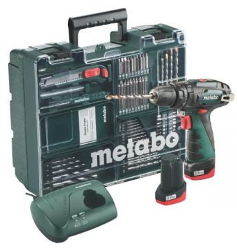 Шуруповерт Metabo PowerMaxx SB Basic Set