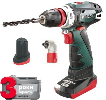 Шуруповерт Metabo PowerMaxx BS Quick Pro