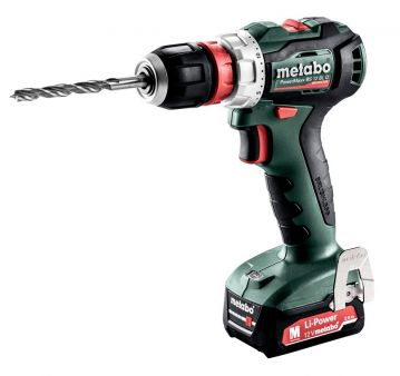 Шуруповерт Metabo бесщеточный PowerMaxx BS 12 BL Quick